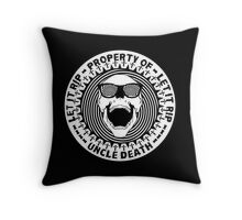 Uncle Death Property Of Let It RIP Throw Pillow