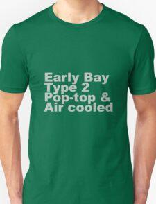 Early Bay Pop Type 2 Pop Top Grey Unisex T-Shirt