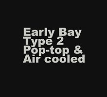 Early Bay Pop Type 2 Pop Top Grey Unisex T-Shirt