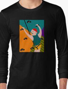 Rock Climbing Indoor Long Sleeve T-Shirt