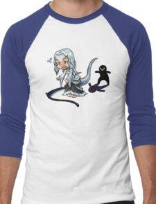 Touch fluffy tail Men's Baseball ¾ T-Shirt