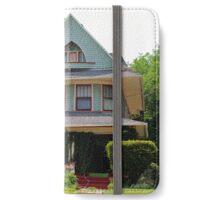 Old West End Blue 5 iPhone Wallet/Case/Skin