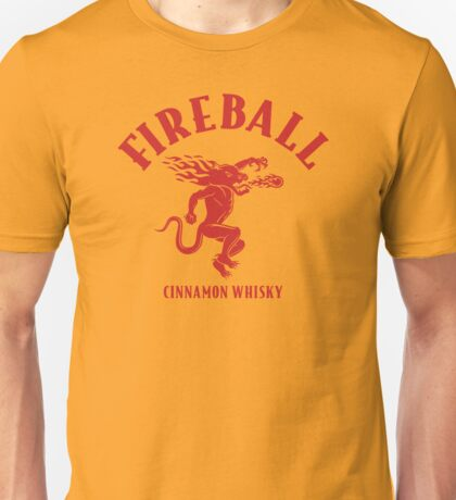 Fireball Whisky Logo Unisex T-Shirt