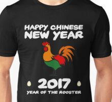 Festive 2017 Chinese New Year of the Roosters Unisex T-Shirt