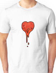 cartoon heart symbol Unisex T-Shirt