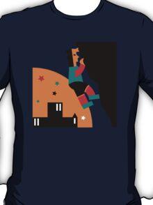 Rock Climbing Outdoor Abstract T-Shirt