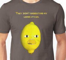 Lemongrab's Lemon Styles Unisex T-Shirt