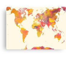 world map 37 Canvas Print