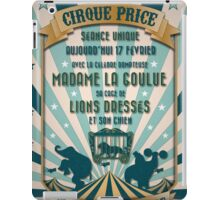 CIRQUE PRICE BLEU iPad Case/Skin