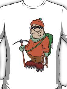 Funny Mountain Ice Climbing T-Shirt