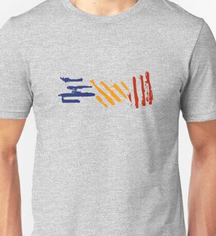 crosshatch Unisex T-Shirt