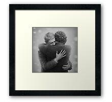 John and Sherlock Framed Print