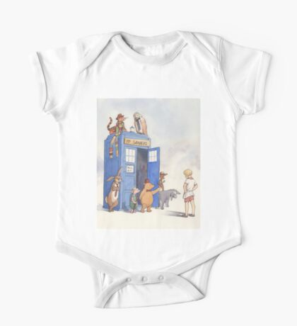 Doctor Pooh One Piece - Short Sleeve