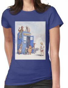 Doctor Pooh Womens Fitted T-Shirt