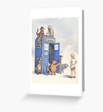 Doctor Pooh Greeting Card