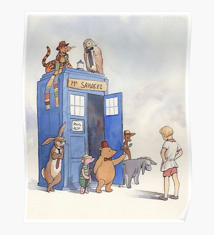 Doctor Pooh Poster