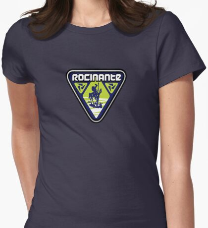 Rocinante Logo -no crew name patch Womens Fitted T-Shirt