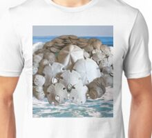 Sand Dollar Collection with the Ocean T-Shirt