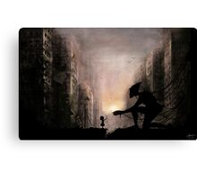 can you play with me? Canvas Print