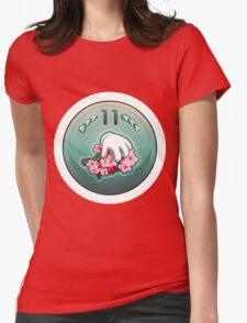 Glitch Achievement newbie fruit tree pettifier Womens Fitted T-Shirt