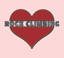 Love Rock Climbing Kids Clothes
