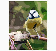"Birds story, "" fawn paint Picasso ! "" 16 (c) (h) the Blue Tit - Olao-Olavia by Okaio Créations  Unisex T-Shirt"