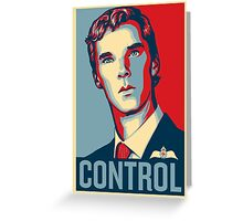 CONTROL 4colours Greeting Card