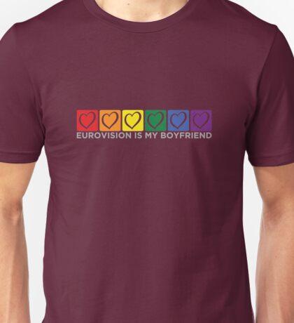 Eurovision is my Boyfriend [blox] Unisex T-Shirt