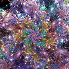 Electric Galaxy Spirals by wolfepaw