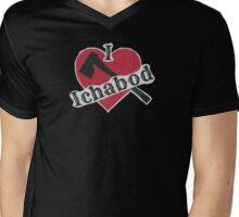 I Love Ichabod by VampireLily Mens V-Neck T-Shirt