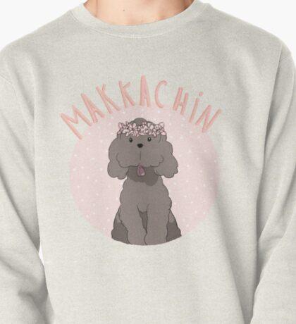 Makkachin Pink Design (Red Outline) Pullover