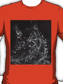 Abstract Shapes 3 - Black & White T-Shirt
