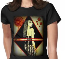 Out of the Darkness..she comes Womens Fitted T-Shirt
