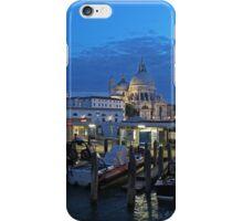 Venice Salute Church at dusk iPhone Case/Skin