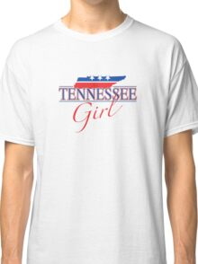 Tennessee Girl - Red, White & Blue Graphic Classic T-Shirt