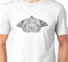Butterfly woman Unisex T-Shirt