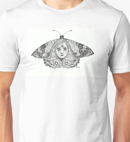 Butterfly woman Unisex T-Shirt