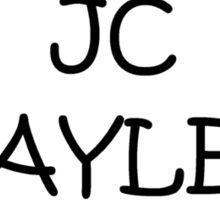 Jc Black Sticker