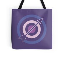 Targets, Arrows, and Purples Tote Bag