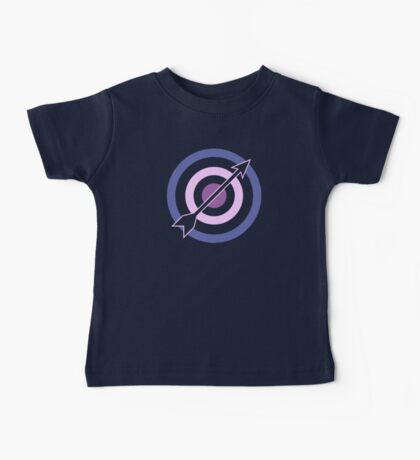 Targets, Arrows, and Purples Baby Tee