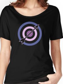 Targets, Arrows, and Purples Women's Relaxed Fit T-Shirt