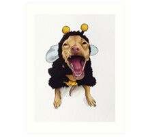 Tuna - bee costume Art Print