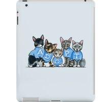 Adopt Shelter Cats iPad Case/Skin