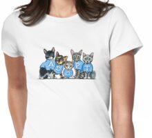 Adopt Shelter Cats Womens Fitted T-Shirt