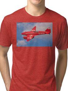 De Havilland Comet Racer G-ACSS Tri-blend T-Shirt