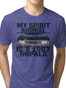 SPN Supernatural Impala Humor Tri-blend T-Shirt