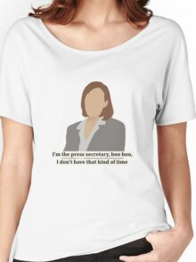 C.J. Cregg - quote Women's Relaxed Fit T-Shirt