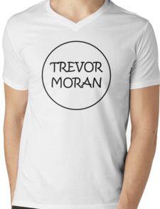 Trevor Black Mens V-Neck T-Shirt