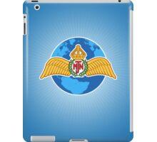 MJN logo/blue iPad Case/Skin