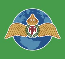 MJN logo/blue Kids Clothes